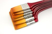 art brush sizes - HwaHong series large size art brushes large surface paint brushes size available synthetic fiber