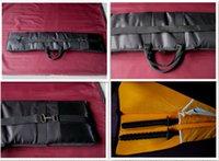 bokken - High Quality Oxford Fabric Leather Kendo Aikido Iaido Shinai Bokken Bag Japanese Samurai swords bag Hold Swords