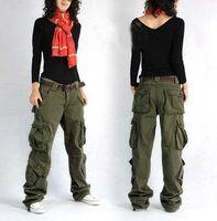 baggy cargo pants for women - New Arrive Plus Size colors Cargo Pants Women s Overall Hip Hop Sport Loose Jeans Baggy Pants For Women