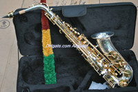 Wholesale High quality Silver YAS Saxophone With Case In Stock