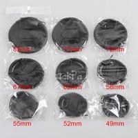 Wholesale 9pcs camera lens cap lens protection front cover d d d7000 d5100 a99 a77 mm mm mm mm mm mm mm mm mm