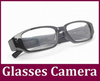 Wholesale 1280 fps glasses Camera Eyewear Ultra thin flat glasses Hidden Spy camera Dvr Video Audio Recorder Mini DV