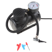 Wholesale 2pcs Portable V PSI Electric Pump Air Compressor Tire Inflator for Motorcycles Electromobile Canoeing CEC_010