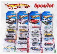 alloy wheels models - 100 Hotwheels cars miniatures hot sale Original hot wheels race cars scale models mini alloy cars toy for boys hobby collection