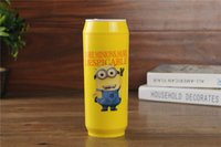stainless steel mug - Minions Shaped Mug Stainless Steel Insulation Cup Seal Bottle Thermos Children s Drinkware ML Stainless steel