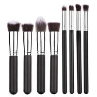 best eyebrow powder kit - Hot Salw Best seller Pro Makeup Cosmetic Blush Brush Eyebrow Foundation Powder Kabuki Brushes Kit Set