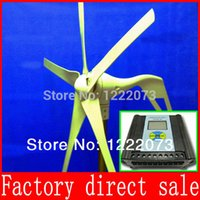 Wholesale Hybrid Solar Wind Power Generator Wind Power Generato12 V Option Combined With Wind Solar Hybrid Controller LCD Display