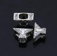 Wholesale 2767 Tibetan silver bird big Hole Beads Spacer Bead Fit European Bracelets Alloy Loose Beads