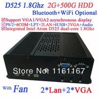 atom thin client - Thin Client PC Mini Itx with VGA LAN COM multi function NM10 Intel Atom D525 dual core Ghz CPU included G RAM G HDD