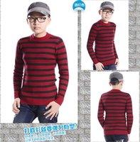 big boys heads - Male children s wear big round collar base sweater boy elastic sets of head wool sweater