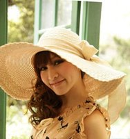 beach articles - new brand woman summer butterfly straw hat hats beach party hat straw plaited article artfical hat