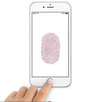 Wholesale Attractive Fingerprint Identification Stickers white and black Metal Aluminum Home Touch Button Keypad Sticker For iPhone