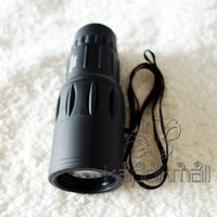 Cheap Monoculars-16*52 Monocular 50pcs Quality Good Price Free Shipping Monocular 16x52 Telescope Travel Outdoor Telescope
