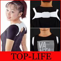 Wholesale Back Posture Brace Corrector Shoulder Support Band Belt Polyester Posture Corrector for women girl student