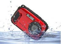 Wholesale DC Waterproof Mega pixels CMOS Sensor Sports Outdoor Diving DC Cam Digital Camera Camcorder Mini Camera