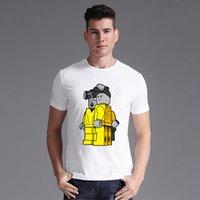 bad tshirts - Breaking Bad Men T Shirts Retro T shirts TV Mr White Heisenberg Jessie Pinkman Funny Print Tops Tees Short Sleeve Tshirts