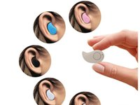 Wholesale Smallest Wireless Invisible Bluetooth Mini Earphones Earbuds Headsets Headphones Support Hands free Calling For iPhone6 plus s Samsung S6