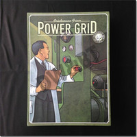 Wholesale ENGLISH version Power Grid basic power grid factory manager board game Annual in
