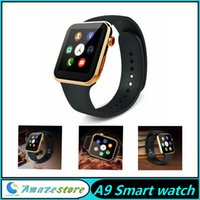 A9 montre intelligente A9 Bluetooth Smart watch fréquence cardiaque pour Apple iPhone Samsung Android Phone relogio intelligent reloj montre smartphone