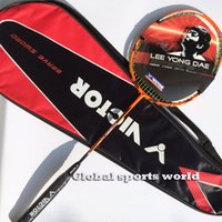 Wholesale 1 pc VICTOR THURSTER K Badminton Racket TK15 badminton racquet U