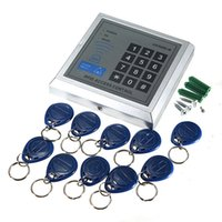 best entry doors - Best Sales Security RFID Proximity Entry Door Lock Access Control System User RFID Keyfobs with English user manual