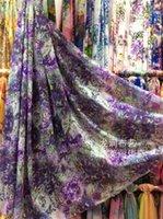 Wholesale Chiffon fabric chiffon fabric printing fabric color fabric skirt fabric clutter