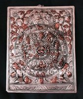 bathroom decor themes - HDC0705 Tibetan metal engraving deco ornaments Buddhist Six Circle Birth theme decor arts
