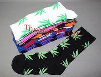 floral supplies - 300pcs SF X Diamond Supply Co diamondlife Pot Leaf Socks Tiffs Maple Leaf Crew Maple Leaf leaf socks J20
