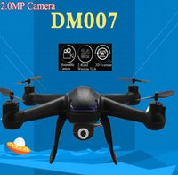 Wholesale op Quality Drones for sales Camera Drones DM007 Ghz Axis Gyro RC Quadcopter Drone UAV RTF UFO with MP HD Camera Drones