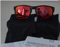 al por mayor los hombres gafas de sol polarizadas originales-2015 MARCA EN LA CAJA ORIGINAL HOLBROOK VR 46 GAFAS DE SOL gafas de gafas MATTE NEGRO W / GRIS IRIDIUM LENTE POLARIZADA PARA HOMBRES HOMBRES