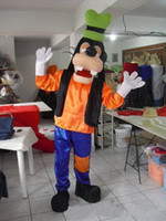 Wholesale Factory direct sale Deluxe Goofy Dog Mascot Costume Fancy Party Dress Suit
