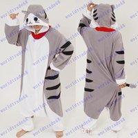 adult onesies - New Arrival Cheese Cat Cartoon Animal Onesies Onesie Adult Unisex Kigurumi Cosplay Costumes lovely Women Pyjamas