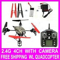 Cheap Big Sale WLV959 2.4G 4CH 6 Axis RC Quadcopter Remote Control RC Helicopter Quad Copter Ar.drone Drone With Camera Quadrocopter