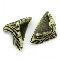 Wholesale Dorabeads Box Corner Foot Protector Desk Box Edge Antique Bronze Pattern Carved mm x mm quot x quot