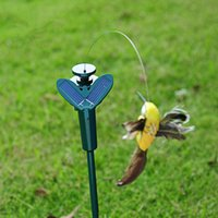 Multicolor solar hummingbird - New Solar simulation Solar Butterfly Solar hummingbird hummingbird garden ornaments