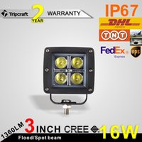 high intensity led - 4pcs W Spot LED WORK LIGHT LAMP V V FOR ATV BOAT JEEP Truck SUV WD Truck High Intensity CREE LED