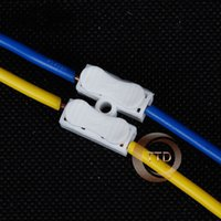 welding wire - 50x p p Spring Connector wire with no welding no screws Quick Connector cable clamp Terminal Block Way Easy Fit for led strip
