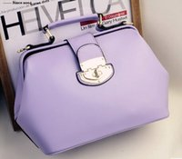 candy handbags - new fashion high quality Candy colors women s Genuine Leather handbag totes crossbody messenger bag shoulder doctors bag