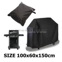 Wholesale 100X60X150cm Black Waterproof BBQ Cover Outdoor Rain Barbecue Grill Protector