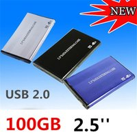 Wholesale Brand New HOT inch TB GB USB2 SATA External Storage Hard Disk Drive HDD Case Box Enclosure Converter Adapter Connector