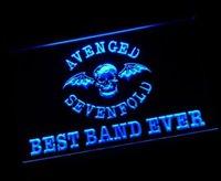 avenged sevenfold - yy Best Band Ever Avenged Sevenfold LED Neon Light Sign