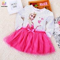 Cheap TuTu girl frozen dresses Best Spring / Autumn A-Line Cheap tutu Dresses