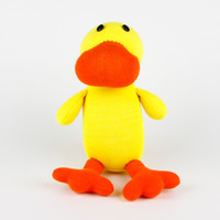 Multicolor baby duck toys - Handmade sock duck stuffed animal doll baby toys birthday christmas new year gift favor
