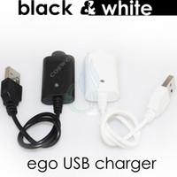 achat en gros de electronic cigarette-Cigarettes électroniques Chargeur USB ego Charge avec IC protéger 4 ego T 510 mod evod vision mini e cig cigarette vapeur mods Chargeur de batterie DHL