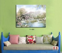 Cheap High Quality painting fur Best China painting art canvas