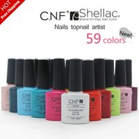 magnetic nail polish - CNF hot Gel nail polish Soak Off UV LED Perfect Nails color base coat top coat