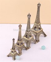 Wholesale 50psc Paris Eiffel Tower Antiqued Imitation Model Bronze Tone Vintage Alloy Decoration