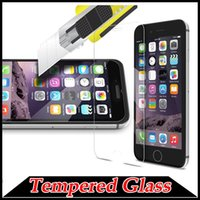 Wholesale 9H Premium Guard Tempered Glass Screen Protector Protective Film For iPhone S Plus SE S Samsung Galaxy Note S7 A8 A9 LG G5 MOQ