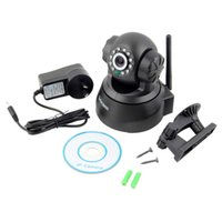 Wholesale 500X Sricam Wireless IP Webcam Camera Night Vision LED WIFI Cam M JPEG Video with AU PLUG