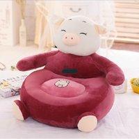 big red sofa - Dorimytrader New Comming cm X cm Lovely Plush Soft Stuffed Cartoon Big Pig Kid Sofa Tatami Nice Gift DY60509